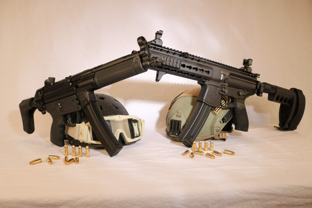 SIG MPX and Zenith Z-5