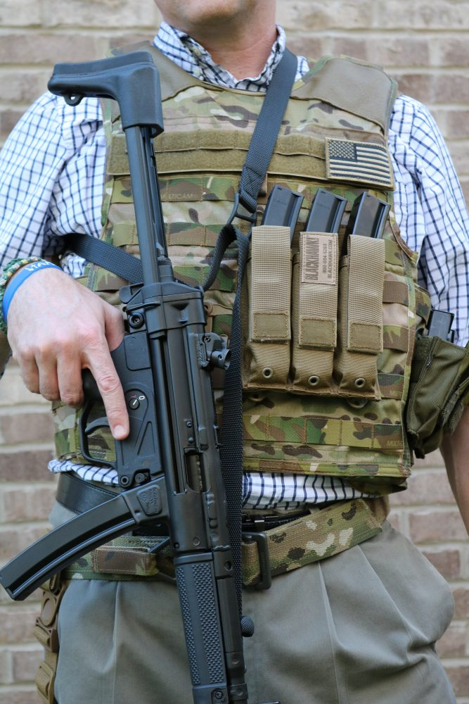 Blackhawk's line of MP5 pouches is functional and effective