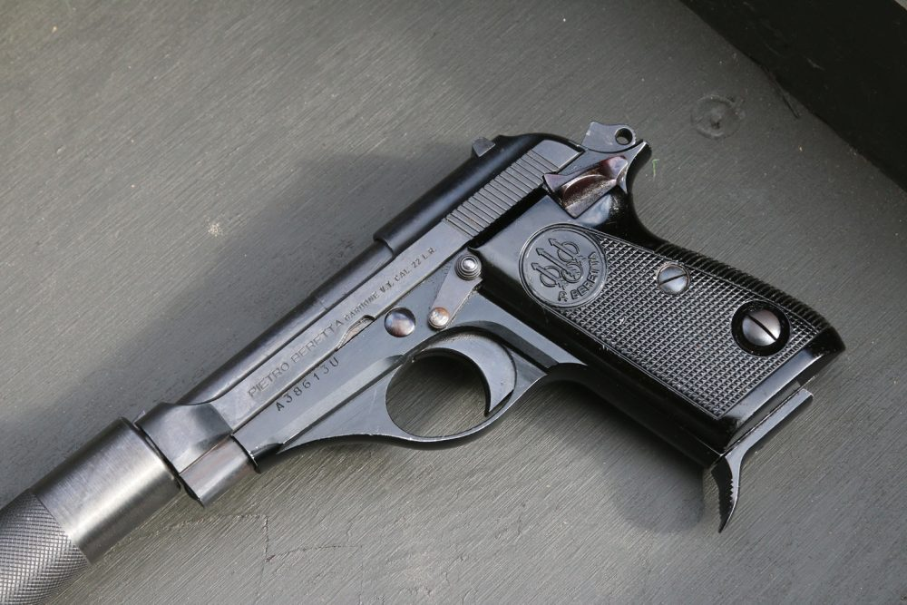 Beretta 71 is a traditional single-action