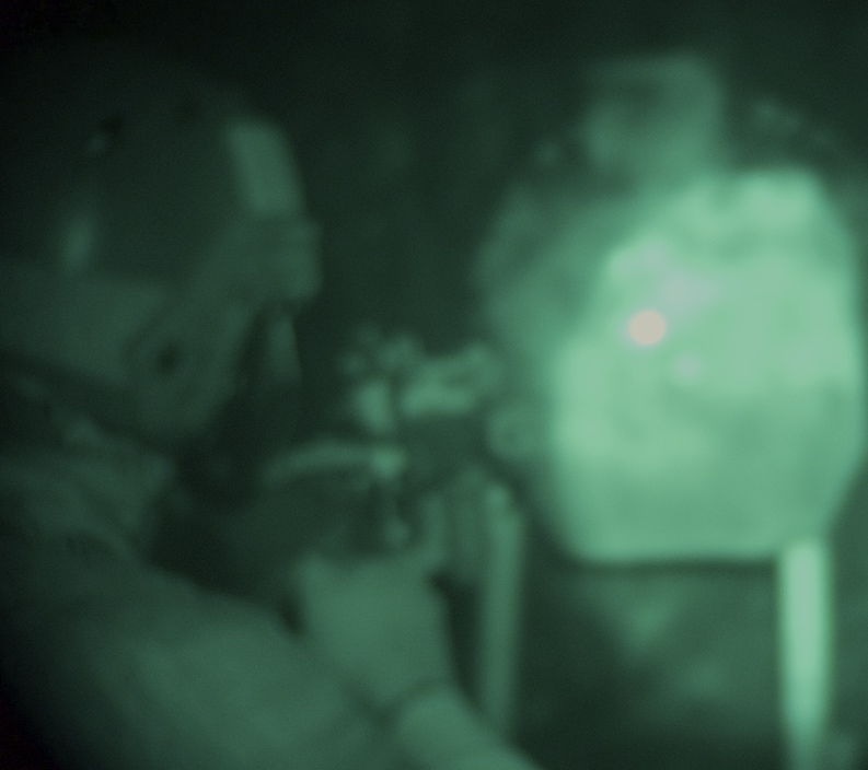 DBAL-A3 was used to engage target in night stage