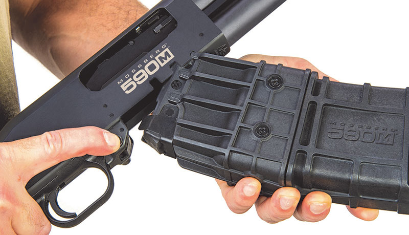 Ambidextrous magazine release is perfectly placed and ergonomic.