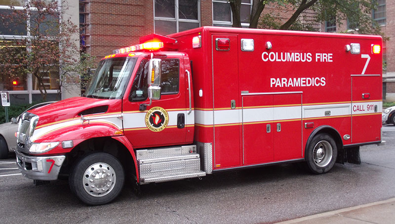 National average response time for a Basic Life Support ambulance is ten minutes. Paramedics are 12 to 15 minutes. A person can bleed out by then. Photo: Wikimedia Commons/Public Domain