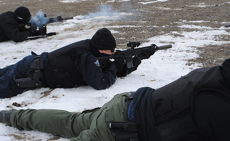 SIG MCX with SIG silencer was reliable and acceptably accurate.