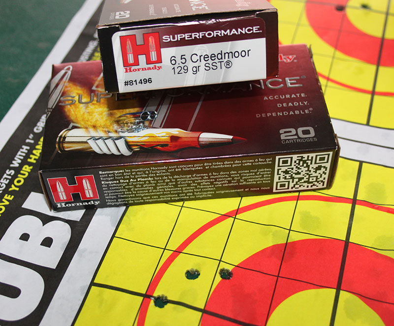 Premium 6.5 Creedmoor ammunition from Hornady and Federal combined with Christensen CA-10 G2 provided outstanding accuracy. 100-yard groups were harbingers of great long-range accuracy results.