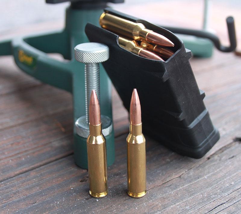6.5 Creedmoor typifies short and efficient cartridge principle.