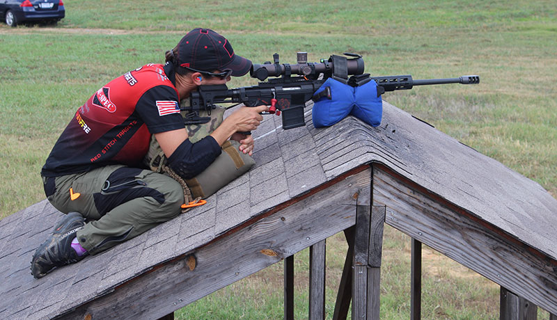 Created to give an edge to competitors in Precision Rifle Series matches, Game Changer bag adapts well to uneven shooting platforms.