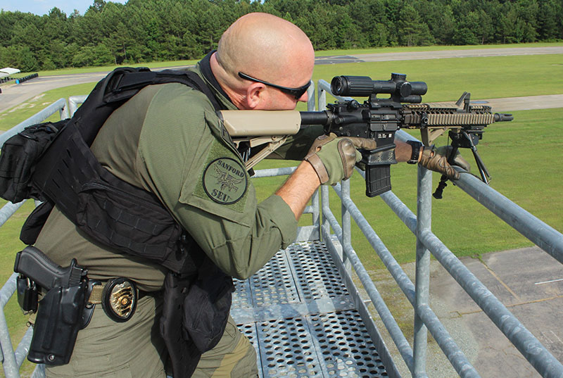 When shooting off a railing, bipod is next to useless.