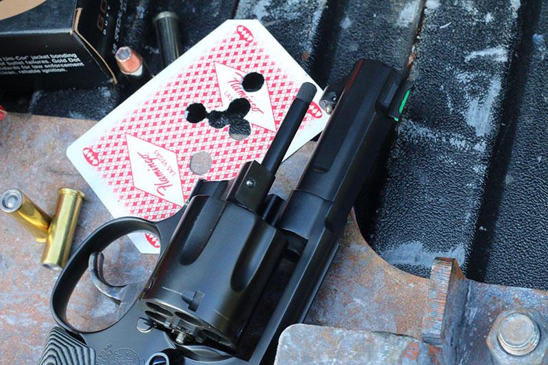 Custom third locking point, a ball detent added in the crane of both guns.