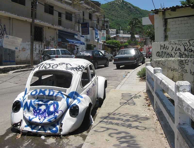 Violent crimes happen to tourists daily on the mean streets of Guerrero, Mexico.