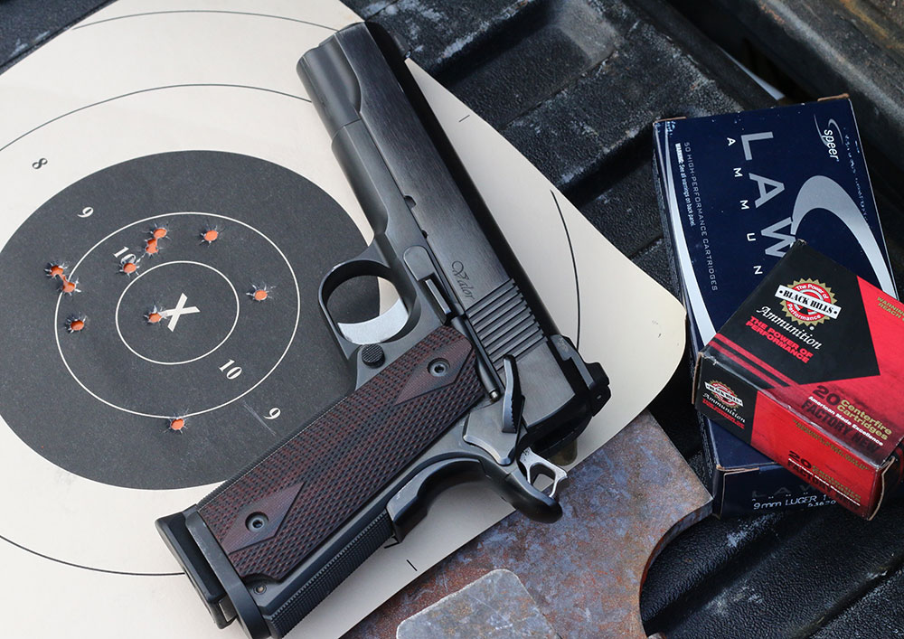 In no time, shooters will find ways to do more in less time and achieve results from standoff. This Dan Wesson Valor is a particularly good shooter and a great match for a challenging drill like the Par 5.