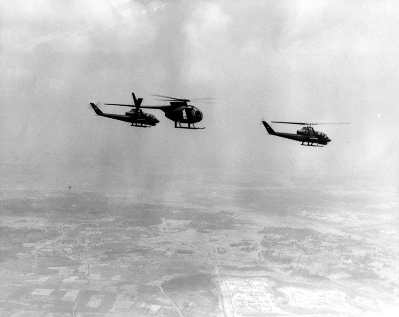 Advent of vertical envelopment via rotary-wing aircraft in Vietnam involved a lot of aircrews operating at low level over hostile territory. These aviators required personal-defense weapon that was easily stowed yet could still deliver proper volume of fire.