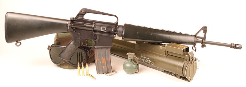 M16 represented truly radical departure from traditional Infantry combat weapons. Despite some teething troubles, the small-caliber, high-velocity round it fired ultimately changed the landscape.