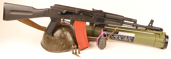 AK-74 was a fresh small-caliber adaptation of rugged and proven Kalashnikov action. Slightly modified versions of this basic rifle still serve in Russian military today.
