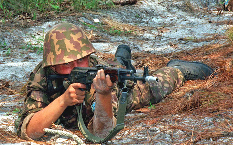 AK-74 is a combat-proven rifle that has seen wide service with the Russian military and its allies. Weapon cut its teeth during 1980s Soviet foray into Afghanistan.