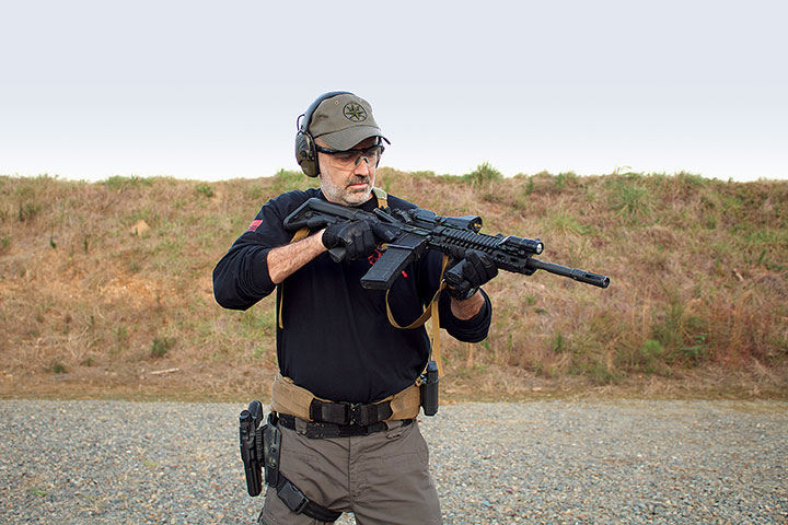 Rolling the rifle over to peer into the chamber and not doing anything about what you see accomplishes nothing except giving the threat time to act against you.