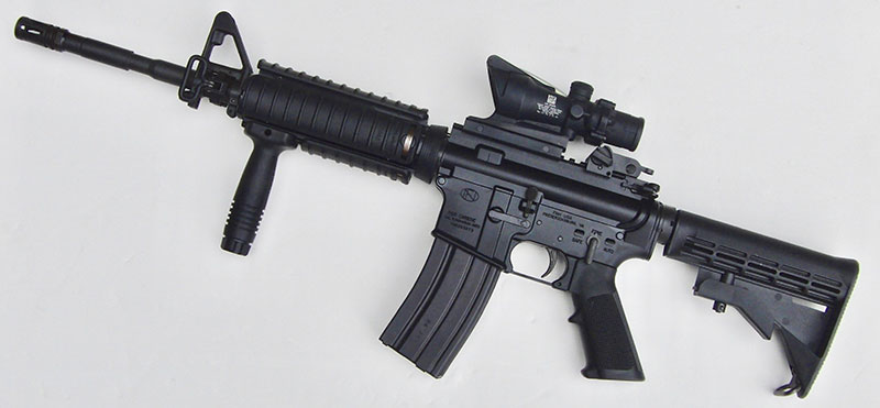 Left side of FN 15 Military Collector M4.