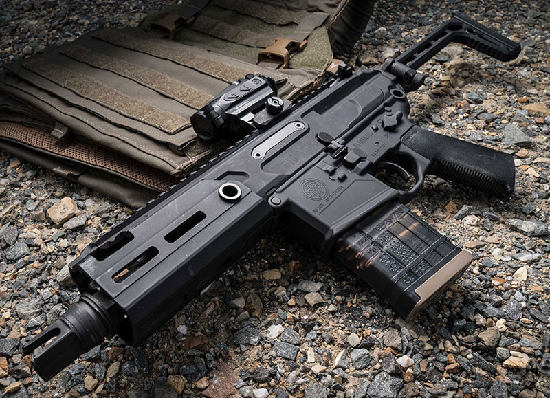 MCX Rattler SBR is SIG MCX in a discrete platform. It was developed to meet a request from U.S. Special Operations Command.