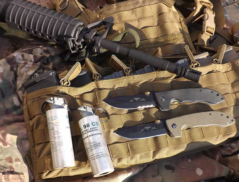 A good knife is an integral piece of kit, whether in a war zone, the urban jungle, or a quick trip to the corner store.