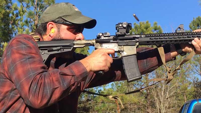 Spoiler alert: Test rifle motoring along at just under 10,000 rounds.
