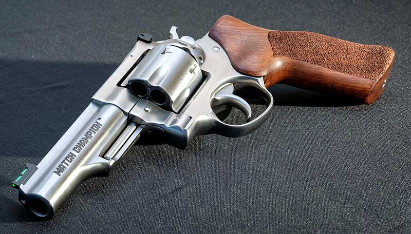 GP100 Match Champion 10mm. Well done, Ruger!