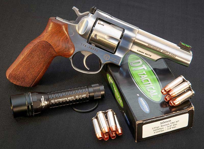 Loaded with serious ammunition like DoubleTap 125-grain TAC-XP, Match Champion is extremely effective self-defense handgun.