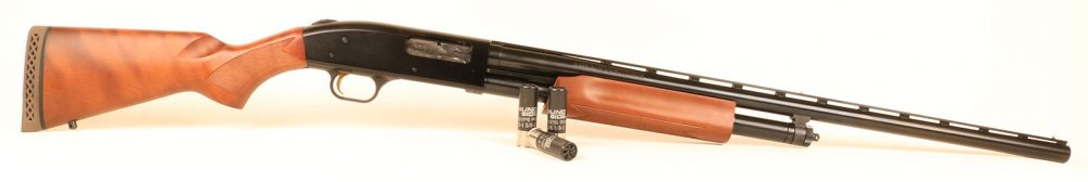 With its benign exterior and wooden stocks, Model 500 would be right at home in any typical American sporting shoot.