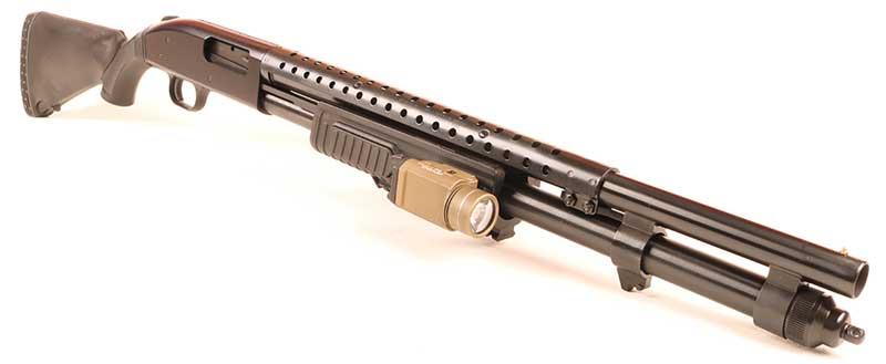 FLEXing Mossberg 590 makes a good shotgun great.