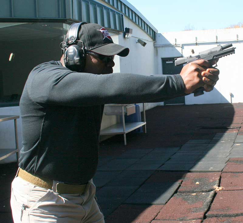Recoil from training and duty ammo was noticeably more than the competition load.