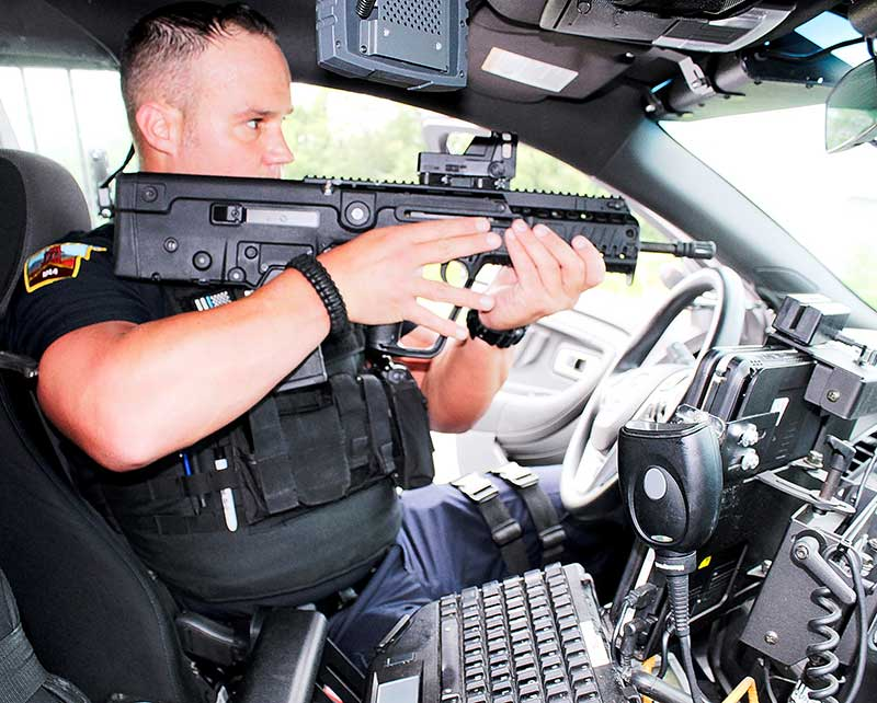 IWI Tavor X95 bullpup is ideal for tight spaces while maintaining full-length barrel performance.