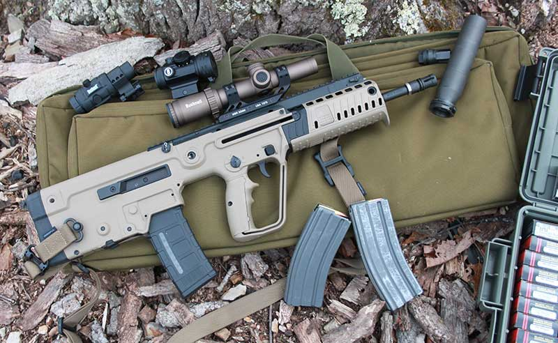 IWI Tavor X95 can be viewed as amalgamation of improvements made in rifle design since field became predominated by AK and AR designs.