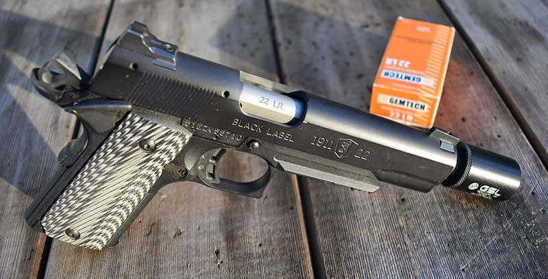 Lightweight Browning Black Label and tiny GSL Pill Box are a match made in heaven.