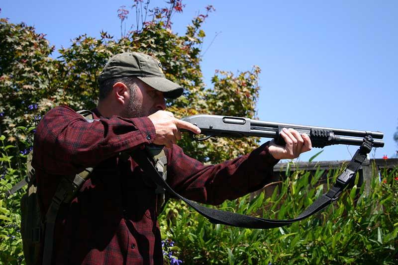 A shotgun is a great multi-purpose weapon.