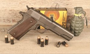 1911A1 is a powerful and effective combat handgun. Even in its basic wartime configuration, 1911A1 offers reliability and unparalleled stopping power.