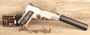 Browning-designed 1911 is the most customized handgun in history. Whether in its GI-issue configuration or fully tricked-out as shown here, 1911 is a seminal firearm.