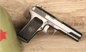 John Browning even indirectly armed the Soviet Union during World War II. TT-33 Tokarev was clearly based upon early Browning designs.